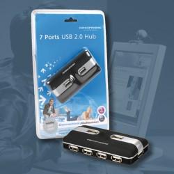 Hub USB2.0 7 Salidas Conceptronic con alimentacion (C7USB2)