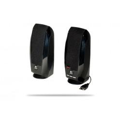 Altavoces Logitech S-150 2.0 Negros OEM (Alimentación por USB)