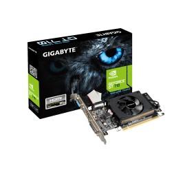 Tarjeta Gráfica GIGABYTE PCIe GT710 2Gb VGA DVI HDMI (GV-N710D3-2GL)