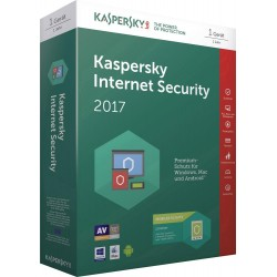 Kaspersky Internet Security 2017 1U (KL1941SBAFS-7)