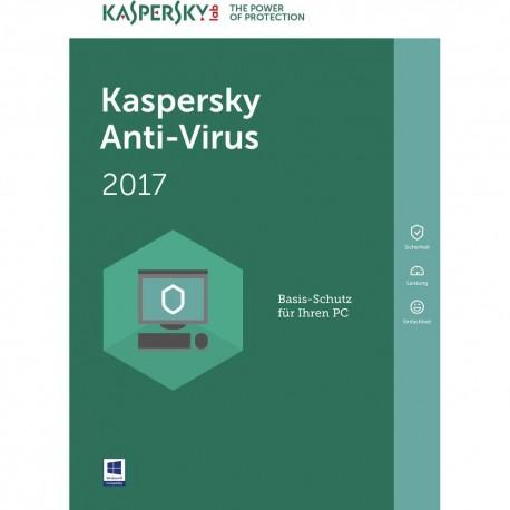 Kaspersky Antivirus 2017 3U (KL1171SBCFS)