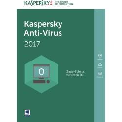 Kaspersky Antivirus 2017 1U (KL1171SBAFS)