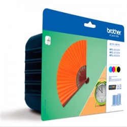 Pack BROTHER 129XL 4 colores XL (LC129XLVALBP)