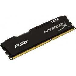 Memoria DDR4 2400Mhz KINGSTON 8GB HYPERX FURY BLACK
