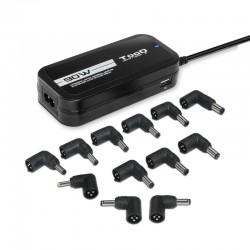 Adaptador AC Portátil TOOQ 90W Universal Autom. 2xUSB (TQLC-90BS02AT)