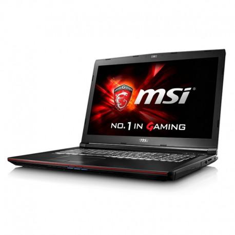 Ordenador Portátil MSI GP62 6QF-861XES (i7-6700HQ 16GB 1TB GTX960 2GB 15.6'' DVDRW Sin S.O.)