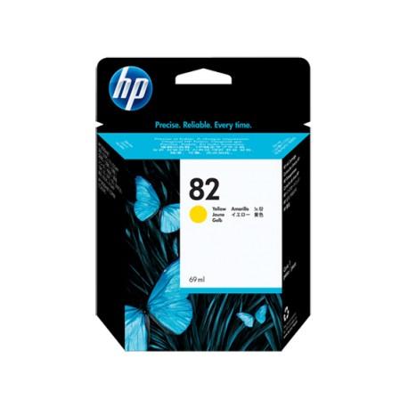 Tinta HP Amarillo Nº 82 500/800 69ml (C4913A)