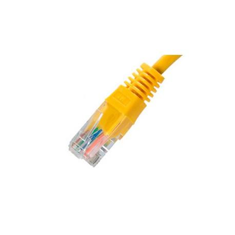 Cable de Red EQUIP Cat 6 0,25m Amarillo (EQ625463)