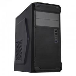 Carcasa Semitorre NOX KORE USB3 Negra (Sin fuente)