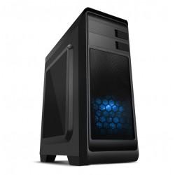 Carcasa Semitorre NOX MODUS Negra USB3 (Sin Fuente)