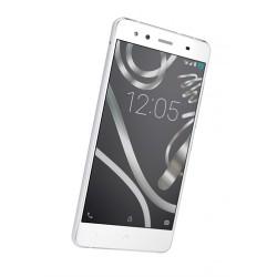 Smartphone BQ AQUARIS X5 4G QCore 16Gb 2Gb A5.1 Blanco/Plata (C000078)
