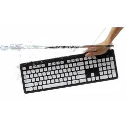Teclado LOGITECH K310 Washable Keyboard Lavable (920-004044)
