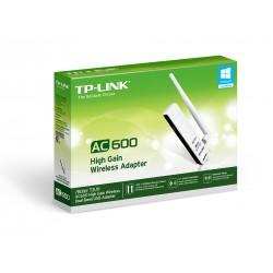 Adaptador USB2.0 Wireless TP-Link 600 5/2.4Ghz Alta Ganancia (ARCHER-T2UH)