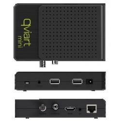 Receptor de Satélite QVIART MINI (FHD, USB, Lan, Wifi, 3G)