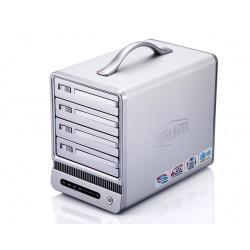 Caja Externa NAS TerraMaster 4HD 3.5'' USB2 RJ45 (F4NAS)
