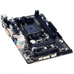 Placa base GIGABYTE GA-F2A88XM-DS2P:(FM2 )4DDR3 VGA DVI 4SATA ATX