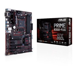 Placa Base ASUS Prime B350-Plus sAM4 (4xDDR4, VGA, DVI, HDMI))