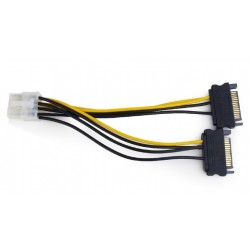 Cable Adaptador de corriente para PCI-E (8 PINES) [CC-PSU-83]