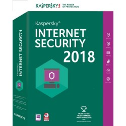 Antivirus Kaspersky Internet Security 2018 1xUsuario (KL1941S5AFS-8)