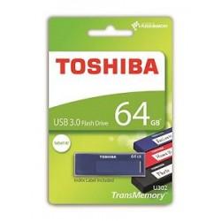 Pendrive TOSHIBA 64Gb USB3.0 Daichi Azul (U302B0640MF)
