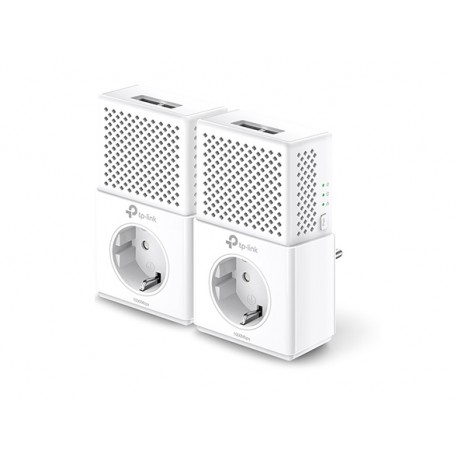 Powerline TP-LINK 2pXGigabit Kit 2 Uds. Schuko (TLPA7020PKIT)