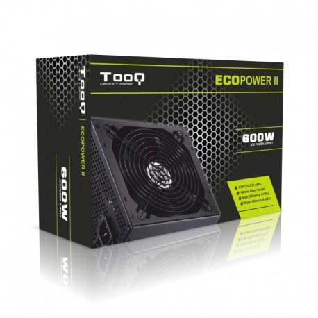 Fuente de Alimentación 600W Tooq Eco Power II 14cm (TQEP-600SP)