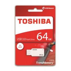 Pendrive TOSHIBA 64Gb USB3 Blanco (U303W0640E4)