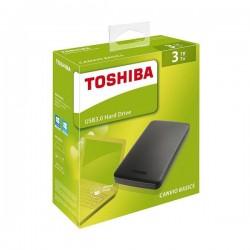 Disco Duro Externo Toshiba Canvio Basics 2.5'' 3Tb USB3.0 (HDTB330EK3CA)