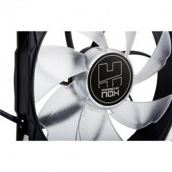 Ventilador Auxiliar de Carcasa NOX HUMMER H-FAN 12x12 LED BLANCO