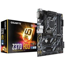 Placa Base INTEL GIGABYTE GA-Z370-HD3 (s1151) 4xDDR4 6xSATA3 HDMI DVI-D ATX GLan