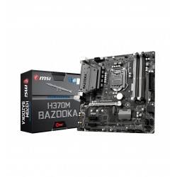 Placa Base INTEL s1151 MSI H370M BAZOOKA 4xDDR4 HDMI DVI 6USB 3.1 C 6SATA M.2