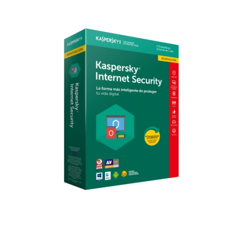 Antivirus Kaspersky Internet Security 2018 3xU Renovacion (KL1941S5CFR-8)