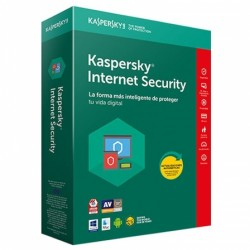 Antivirus KASPERSKY Internet Security 2018 4xUsuarios (KL1941S5DFS-8)