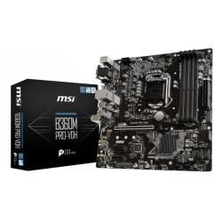 Placa Base INTEL s1151 MSI B360M PRO-VDH 4xDDR4 VGA HDMI DVI mATX (911-7B24-003)