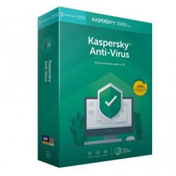 Kaspersky Antivirus 2019 3U (KL1171S5CFS-9)
