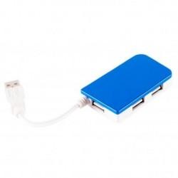 Hub APPROX de 4 puertos USB2 Diferentes Colores (APPHT4/P/LB)