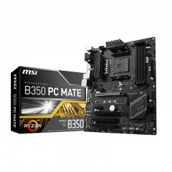 Placa Base sAM4 MSI B350 PC MATE 4xDDR4 DVI-D VGA HDMI M.2 USB3.1