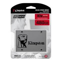 Disco SSD Kingston 480Gb SSDNow UV500 SATA3 (SUV500/480G)