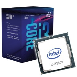 MicroProcesador Intel Core i3-8350K LGA1151 4.0Ghz 8Mb Sin Ventilador
