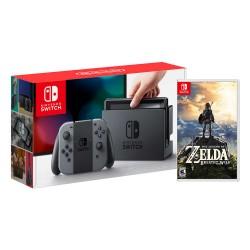 Consola Nintendo Switch Gris + Zelda Breatch Wild