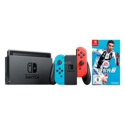 Consola Nintendo Switch Azul Neón / Rojo Neón + Fifa19