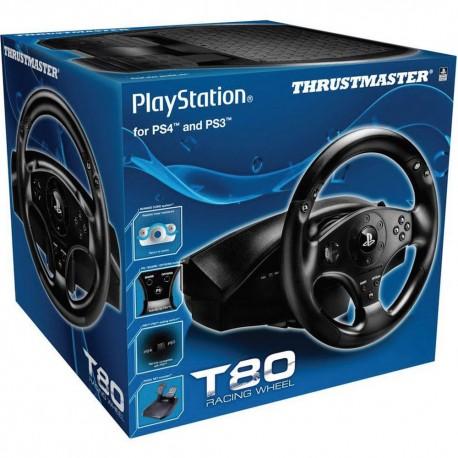 Volante Thrustmaster T80 RW Oficial PC/PS4/PS3 (4160598)