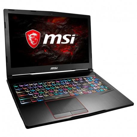 Ordenador Portátil MSI GE63 8RF-039XES (i7-8750 16Gb 1Tb + 256GB SSD 15.6'' GTX1070 8GB Sin Sistema O