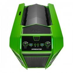 Carcasa Semitorre Gaming AEROCOOL XPREDATOR CUBE GB Verde/Negro