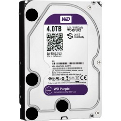 Disco Duro 4TB sATA3 Western Digital Purple 3.5'' 64Mb CCTV (WD40PURX)