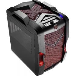 Carcasa Semitorre Gaming AEROCOOL STRIKE-XCUBERD 3.0 Negro/Rojo