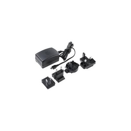 Fuente de Alimentación RASPBERRY Micro USB 5V 2.5A Negro (9098135)