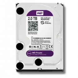 Disco Duro 2TB sATA3 Western Digital Purple 3.5'' 64Mb CCTV (WD20PURX)