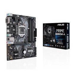 Placa Base s1151 ASUS PRIME B360M-A 4xDDR4 DVI HDMI mATX