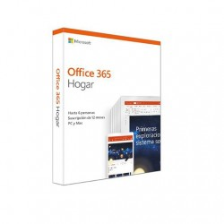 Microsoft Office Hogar 365 Multidispositivo 6 U/1Año (6GQ-00995)